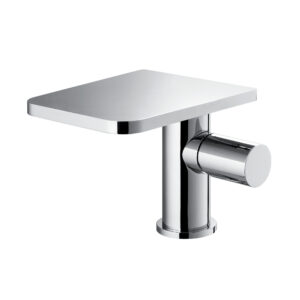 Annecy mono 130mm basin mixer with clicker waste set