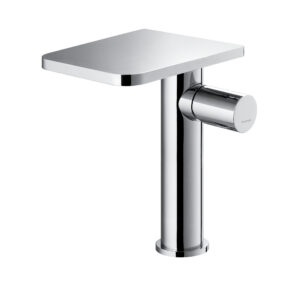 Annecy tall 270mm mono basin mixer with clicker waste set